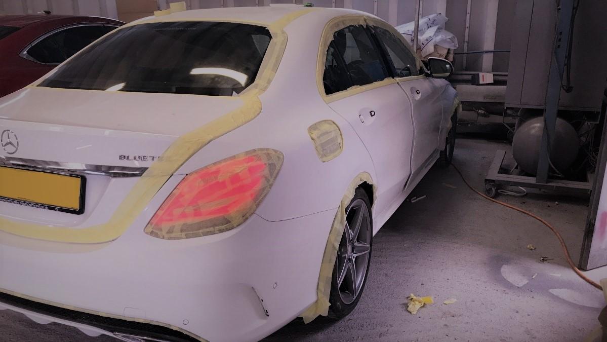 Кузовной ремонт Mercedes-Benz